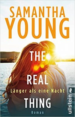 """Rezension zu """"The Real Thing"""" von Samantha Young Rezensionsexemplar"""