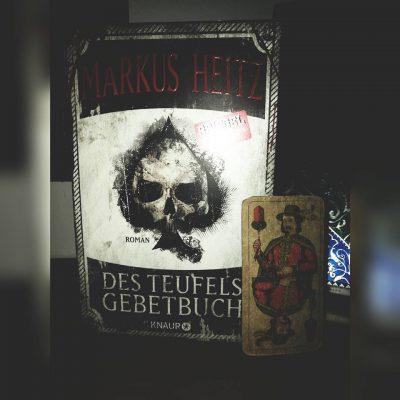"""Rezension zu """"Des Teufels Gebetbuch"""" von Markus Heitz Rezensionsexemplar"""