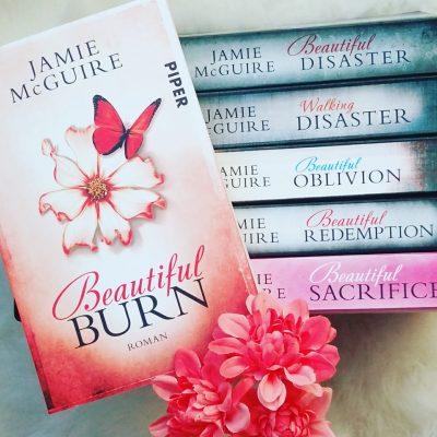 "Rezension zu ""Beautiful Burn"" von Jamie McGuire Rezensionsexemplar"