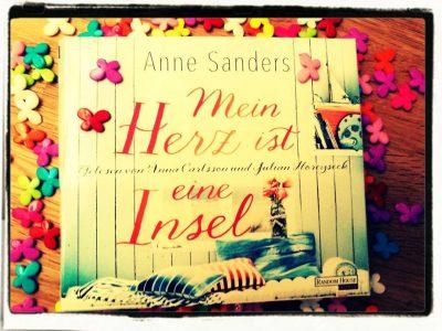 """Rezension zu """"Mein Herz ist eine Insel"""" von Anne Sanders Rezensionsexemplar"""