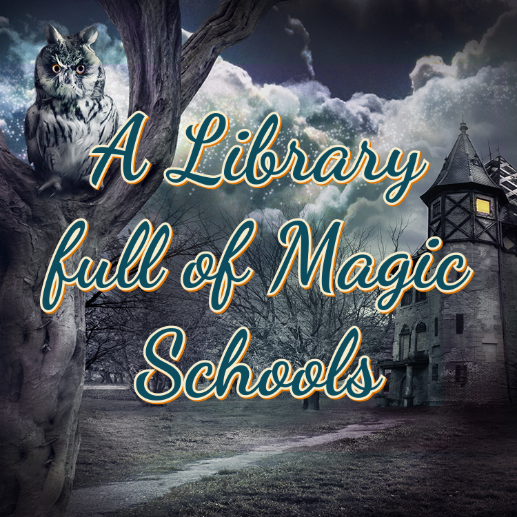 Library full of Magic Schools