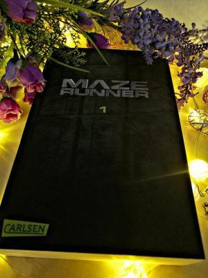 """Rezension zu """"Maze Runner"""" von James Dashner"""