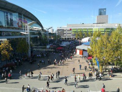 Messebericht zur Frankfurter Buchmesse Part 2 Werbung (Verlinkungen)