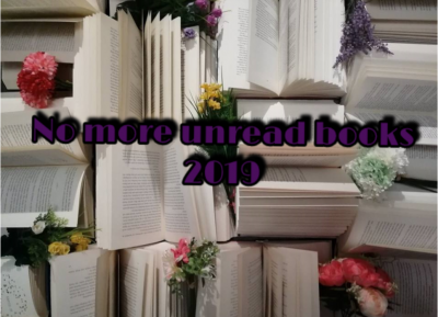 No more unread books 2019