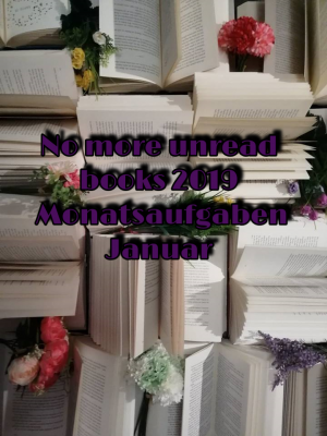 No more unread books 2019 – Aufgaben Januar