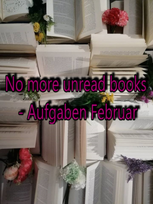 No more unread books – Aufgaben Februar