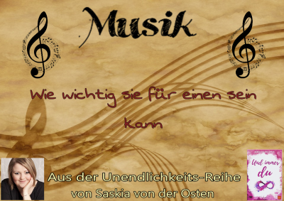 \Musik, wie wichtig sie für einen sein kann\, Saskia von der Osten