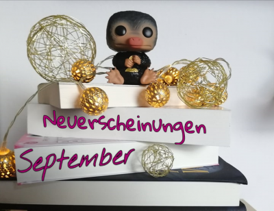 Im September erwarten uns viele neue Bücher