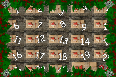 Adventskalender in Buchform