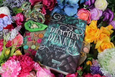 """/Rezension/ zu """"Drachendunkel – Die Legende von Illestia"""" von  Eyrisha Summers"""