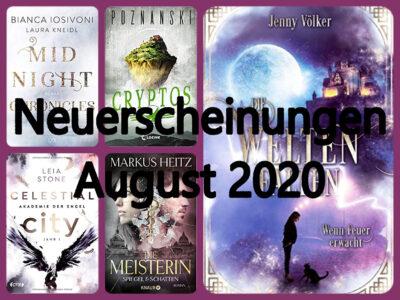 Neuerscheinungen im August