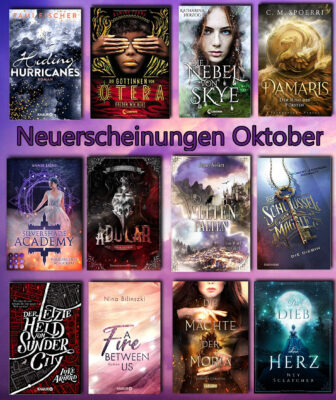 Neuerscheinungen Oktober – let´s read good books ;)